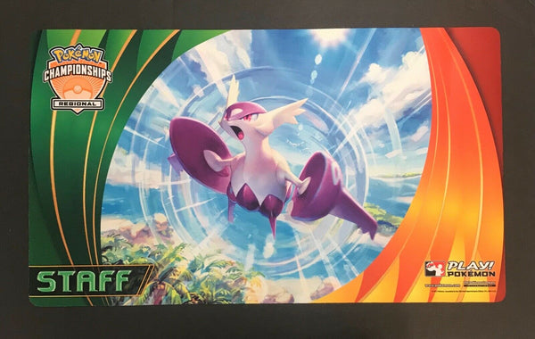 Pokemon Latios Regional STAFF 2015 Regionals Playmat - New Never Used
