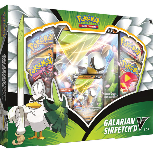 Pokemon - Galarian Sirfetch'd V (Pre-Order Sept 25th, 2020)