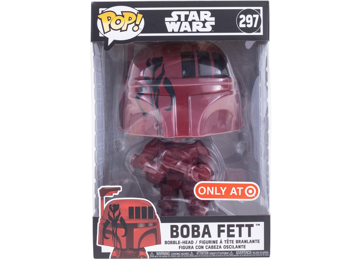 Pop! Star Wars Boba Fett #297 (Target Exclusive) | SKYFOX GAMES
