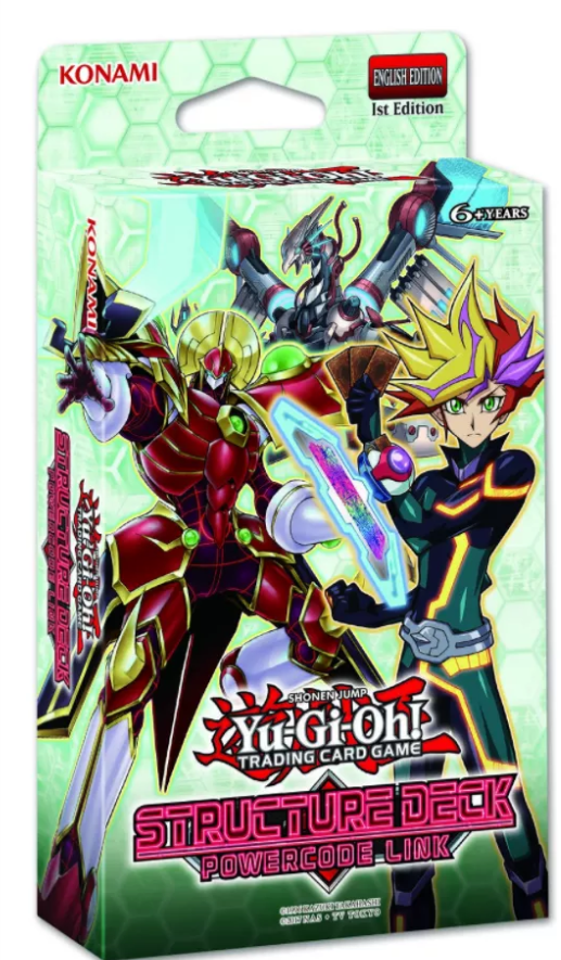 Yu-Gi-Oh! Structure Deck: Powercode Link | SKYFOX GAMES