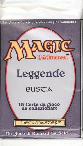 Italian Legends booster pack | SKYFOX GAMES