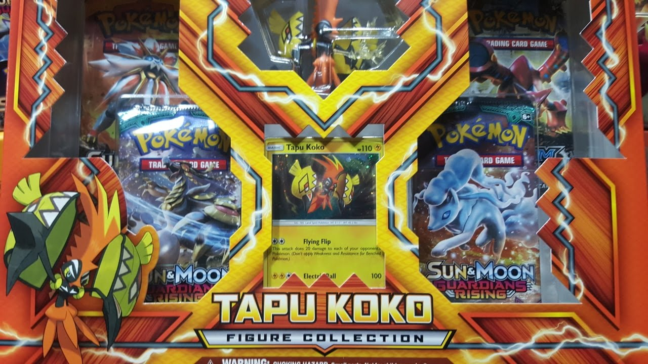 Tapu Koko Figure Collection | SKYFOX GAMES