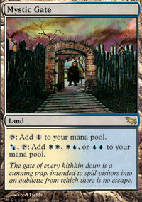 Mystic Gate	(Shadowmoor FOIL) | SKYFOX GAMES