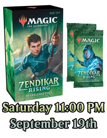 MTG: Zendikar Rising Prerelease Registration - Saturday Sept 19th 11:00 AM | SKYFOX GAMES