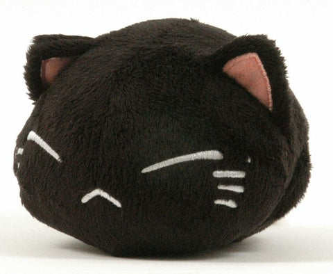 Anime Cat Plush, Large Black