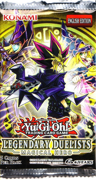 Yugioh! Legendary Duelists Magical Hero (Unlimited) Booster Pack