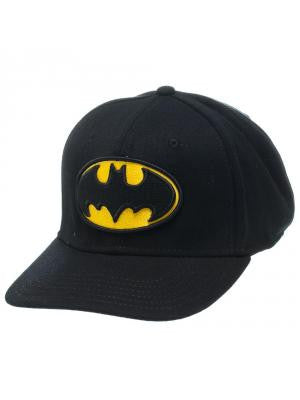 Batman - Bat Symbol on Black Flexcap