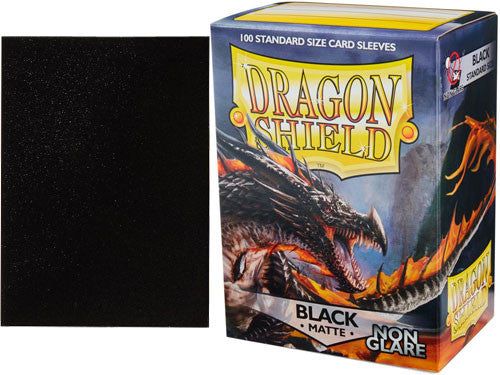 Dragon Shield Black Matte Non Glare | SKYFOX GAMES