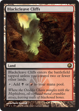 Blackcleave Cliffs (Scars of Mirrodin FOIL) | SKYFOX GAMES