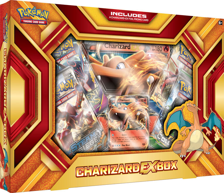 Pokemon - Charizard EX Box | SKYFOX GAMES