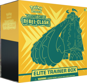 Pokémon: Sword & Shield Rebel Clash Elite Trainer Box | SKYFOX GAMES