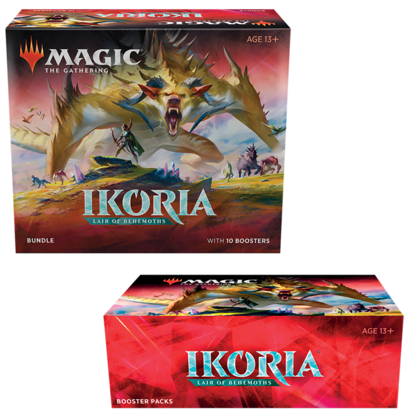 Magic the Gathering IKORIA LAIR OF BEHEMOTHS - COMBO #1 - BOOSTER BOX & BUNDLE