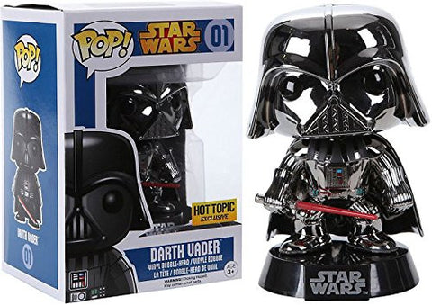 Darth Vader (Chrome) (Hot Topic Exclusive)