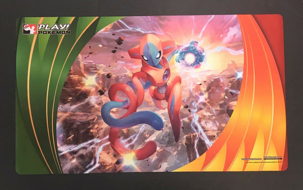 Play Pokemon! Deoxys Playmat 2015 Nationals New