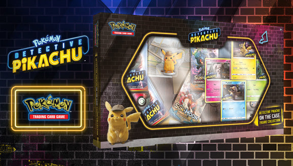 Detective Pikachu On The Case Figure Collection | SKYFOX GAMES