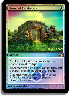 Door of Destinies	(Pre-Release Promo FOIL) | SKYFOX GAMES