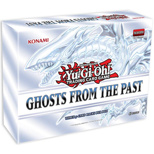 Yu-Gi-Oh! GHOSTS FROM THE PAST (PRE-ORDER MARCH 25, 2021) | SKYFOX GAMES