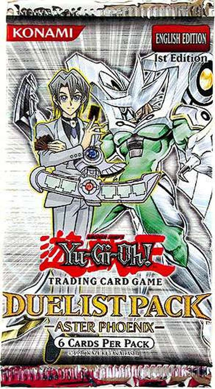 Duelist Pack Aster Phoenix 1st Edition Booster Pack | SKYFOX GAMES