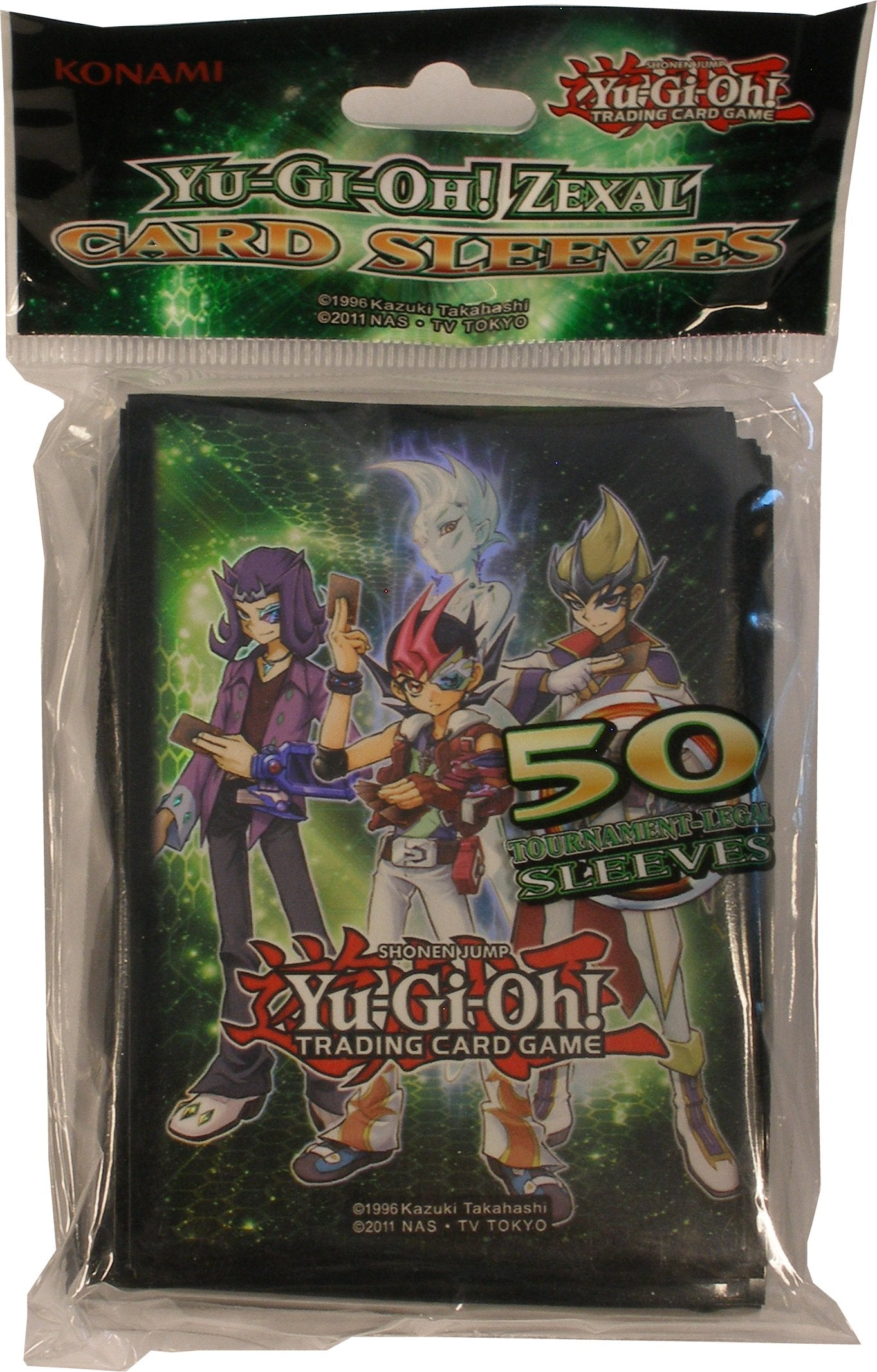 Zexal Card Sleeves - Yu-Gi-Oh Official Sleeves [50 CT] | SKYFOX GAMES
