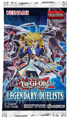 Yugioh! Legendary Duelists Booster Pack
