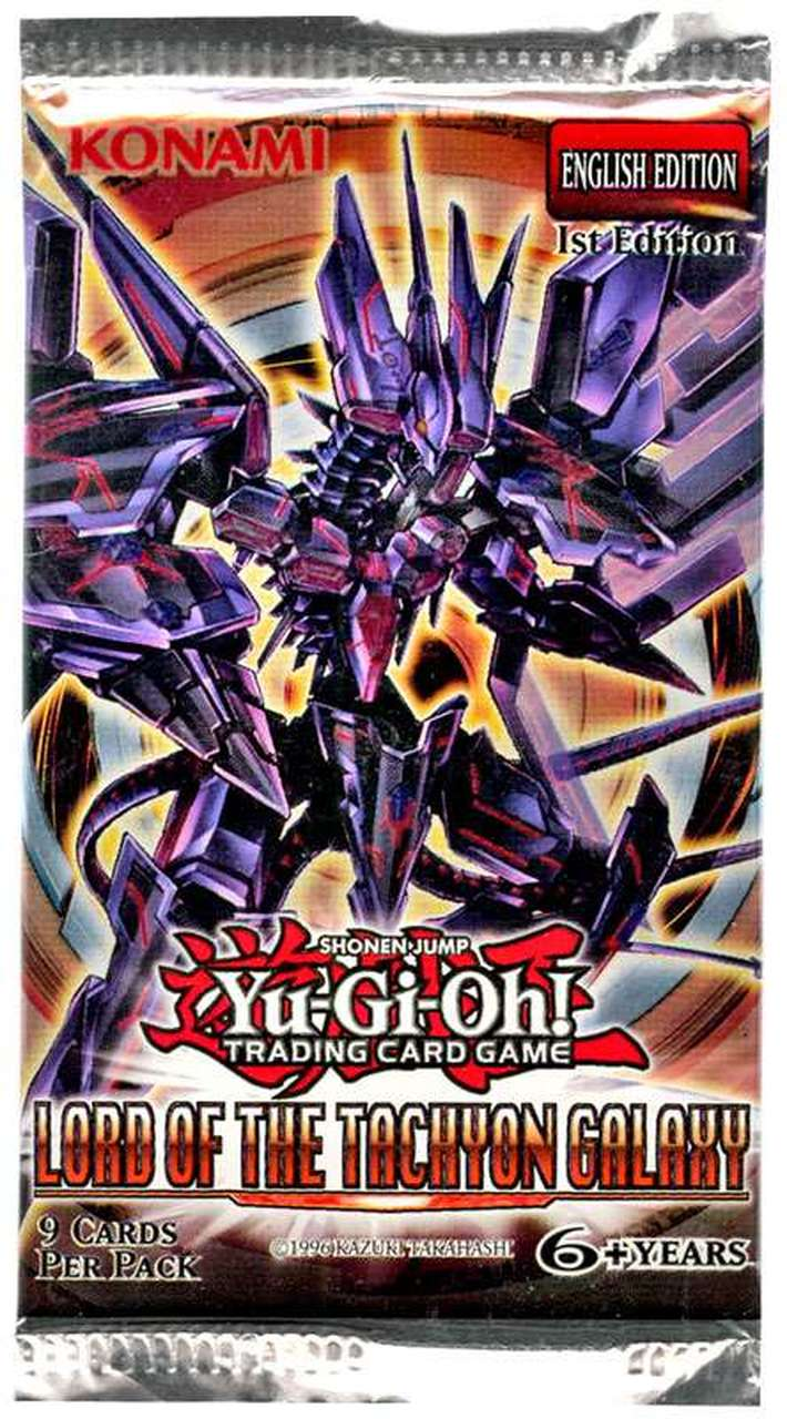 Lord of the Tachyon Galaxy 1st Edition Booster Pack | SKYFOX GAMES