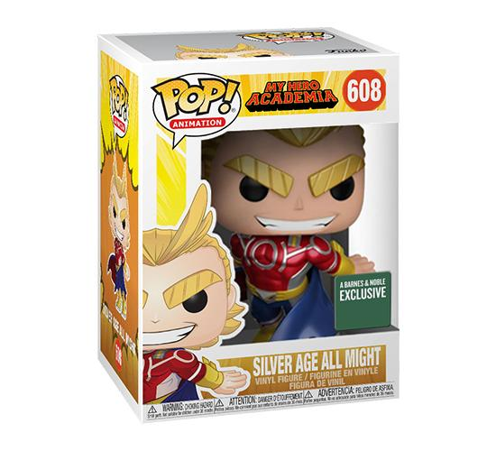 Pop! Animation My Hero Academia: Silver Age All Might #608 (Barnes & Noble Exclusive)