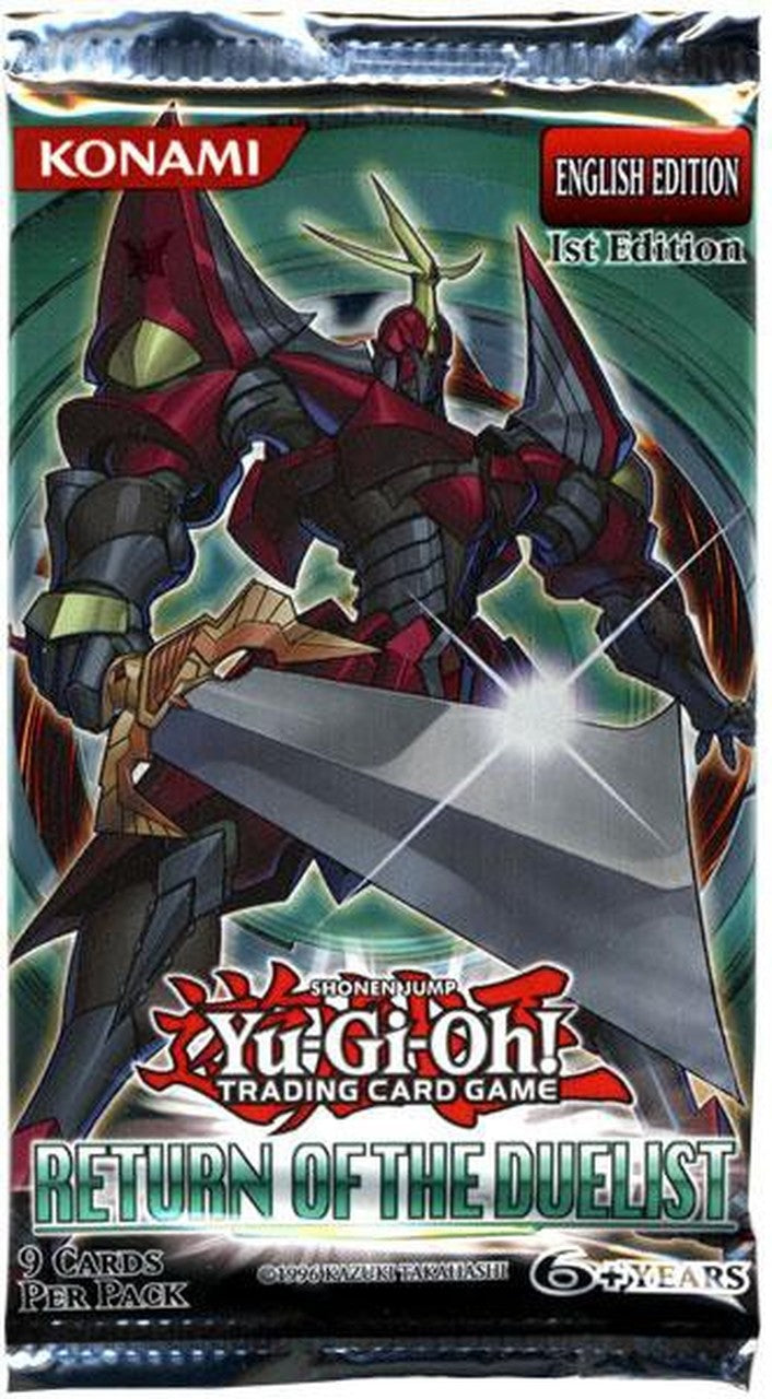 Return Of The Duelist 1st Edition Booster Pack | SKYFOX GAMES