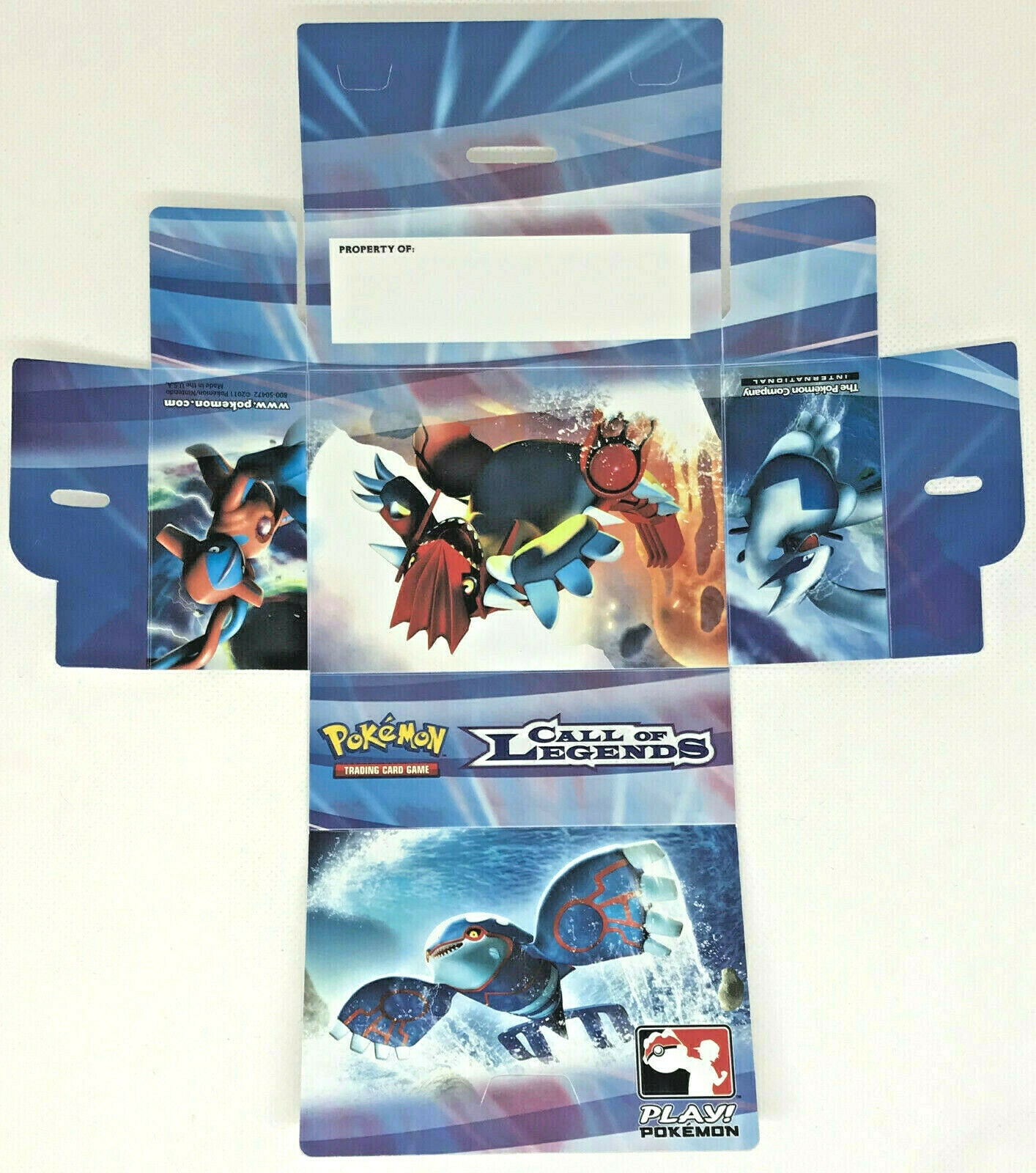 Play Pokemon Call of Legends Prerelease Deck Box | SKYFOX GAMES