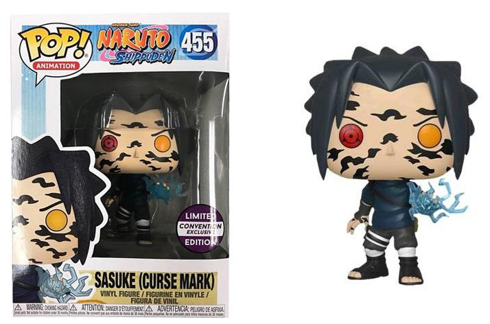 Pop! Animation Naruto Shippuden: Sasuke (Curse Mark) #455 (Limited Edition Convention Exclusive) | SKYFOX GAMES