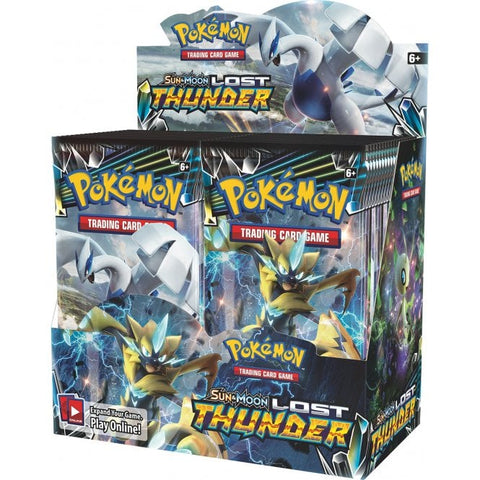 Pokémon: S&M Lost Thunder booster box