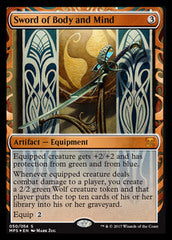 Sword of Body and Mind	(Aether Revolt Inventions FOIL) | SKYFOX GAMES