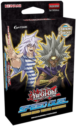 Yugioh Speed Duel Starter Deck Twisted Nightmares | SKYFOX GAMES