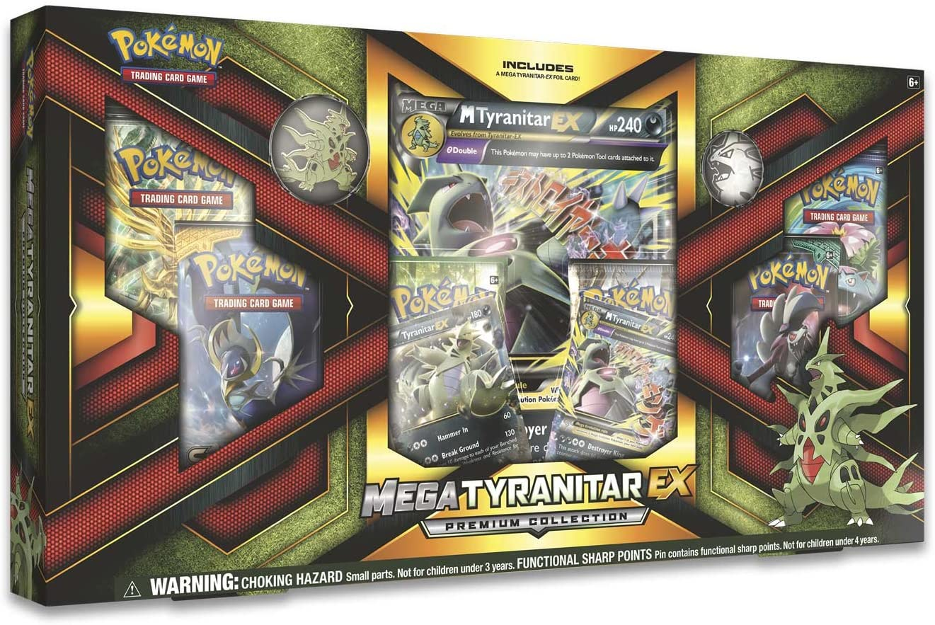 Mega Tyranitar EX Premium Collection | SKYFOX GAMES