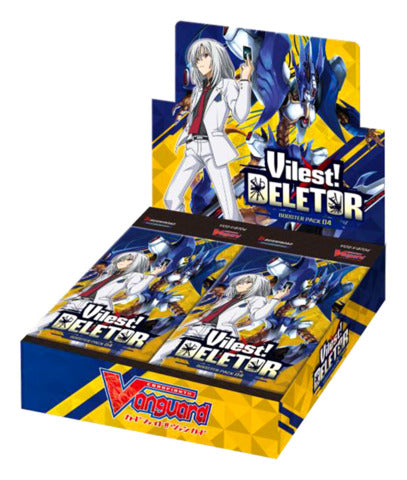 Cardfight!! Vanguard - Vilest! Deletor Booster Box - VGE-V-BT04