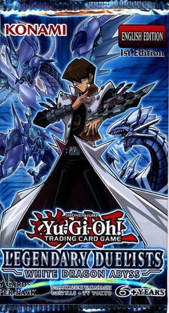 Yugioh! Legendary Duelists White Dragon Abyss Booster Pack | SKYFOX GAMES