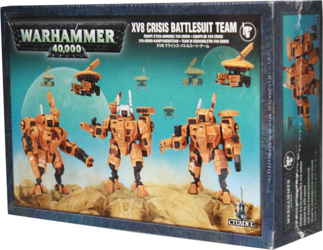 Warhammer 40,000: T'au Empire - XV8 Crisis Battlesuit Team | SKYFOX GAMES
