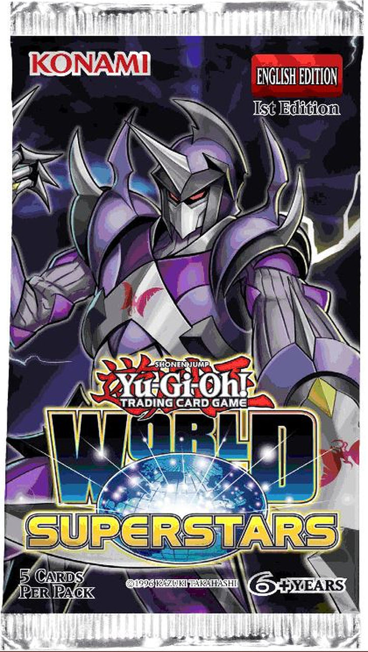 Yugioh World Superstars 1st Edition Booster Pack | SKYFOX GAMES