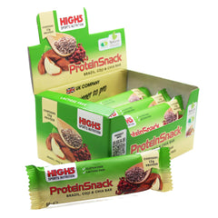 Protein Bars - High5 Protein Snack Bars 12x60g