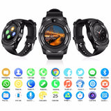 2018 Best Bluetooth Android Smart Watch Touch Screen Sleep Monitor Cell Phone Smartwat for Kids Men Women Smat Watch - reyes shop store