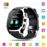 2018 New Bluetooth Android Smart Watch Touch Screen Redometer Sleep Monitor Best Fashion Cell Phone Smartwat for Kids Men Women - reyes shop store
