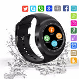 2018 New Bluetooth Smart Watch Touchscreen Unlocked Watch Cell Phone Smart Wrist Watch Waterproof Smartwat for Android Men Women - reyes shop store