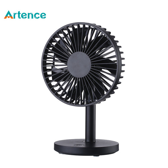 2018 New USB Desk Cooling Fan for Office Home Computer Creative Quiet Mini Fan with 3 Speeds Angle Adjustable - reyes shop store