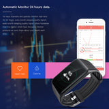 2018 Smart Wristband Bracelet K1 Heart Rate Monitor IP68 Waterproof gps Sports Fitness Tracker Smartband Sport Watch ios android - reyes shop store
