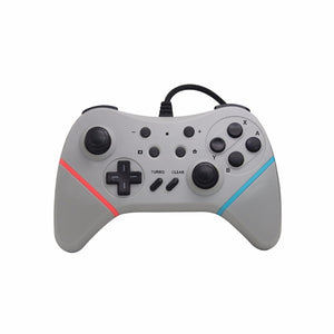 3 color USB Wired Controller Gamepad For Nintend Switch NS Built-in 6-axis sensor Support Switch PC Games Play With TURBO Button - reyes shop store