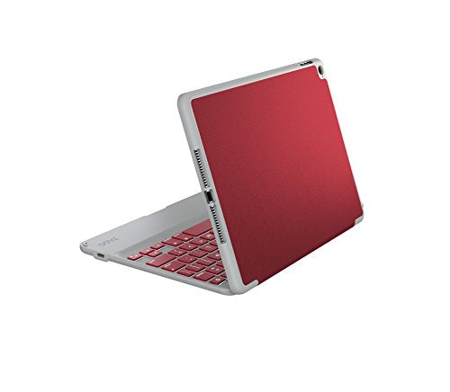 ZAGG Folio Case, Hinged with Bluetooth Keyboard for iPad Air - Crimson