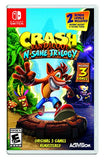 Crash Bandicoot N. Sane Trilogy - Nintendo Switch Standard Edition - reyes shop store