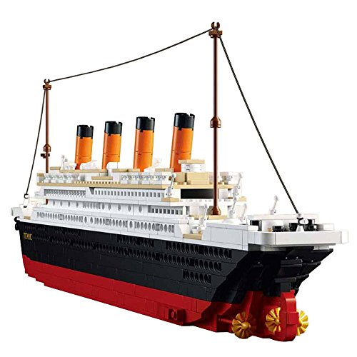 SuSenGo Titanic Building Block Kit 1021 Pieces Bricks