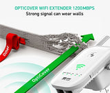 NEWEST 2018 WiFI Extender Internet Booster Signal Extenders Wireless Repeater 2.4GHz 5GHz Dual Band Up to 1200 Mbps - Best Range Network Plug-In - 360 Degree Full Coverage - 33 ft range - reyes shop store