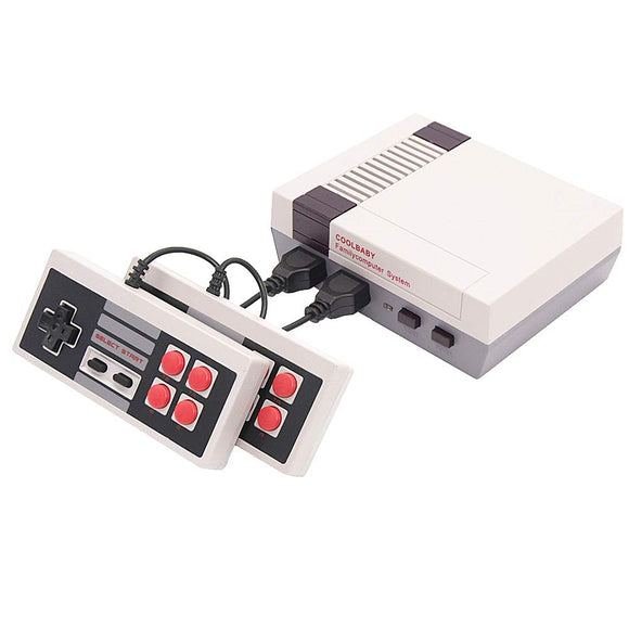 EVVE Retro Mini Video Game Console Built in 600 Classic Games Console AV Out Family Computer Adult & Children Gifts
