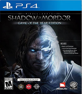 Middle Earth: Shadow of Mordor Game of the Year - PlayStation 4 - reyes shop store